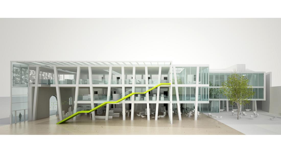 nuova biblioteca di monza sharestudio architettura