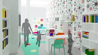 share studio architettura progetto spazio ricreativo per bambini a bari