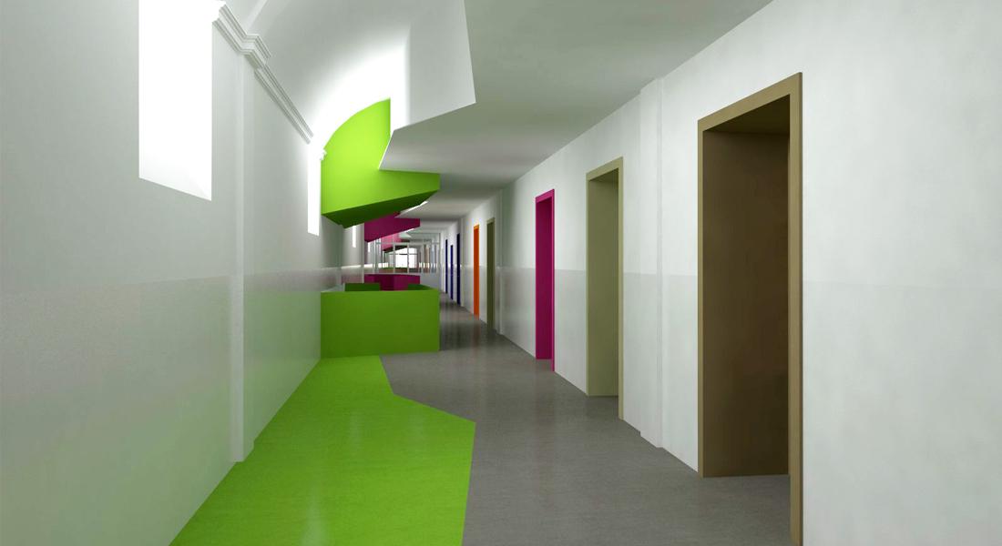 Manica ovest sharestudio architettura design for Spazio arredo torino